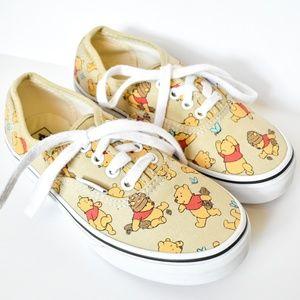 Winnie the Pooh Disney Kid's/Youth Vans Shoes
